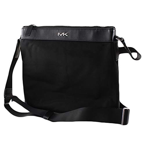 "Lightweight nylon messenger bag with sophisticated style Adjustable crossbody strap; Top zip closure Back Slip Pocket Inside 1 large open pocket and 2 multifunction pockets; 11""W x 10""H x 2.5""D"