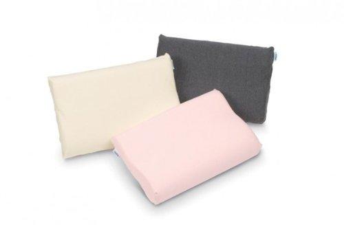 Tempur (Tempur) Pillow Cover Gray Sonata Pillow S ~ Smooth Pillow case for L 2250022