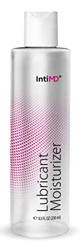 IntiMD Personal Lubricant Moisturizer Water Based Lube, FDA 510K Cleared, Long Lasting, Sensitive Skin Friendly - 8.5oz