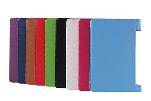 Für hochwertige PU-Ledertablette Smart Case Für Lenovo Yoga 2 1050 1050F 1050L Tablet Cover Ultra Slim Tablet TC Hülle-Schwarz