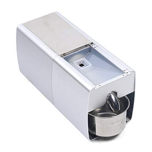 Máquina de prensa para aceite de oliva eléctrica, prensa de aceite, prensa caliente y fría, extractor de aceite automático de acero inoxidable 304, para aceitunas, coco, canola, sésamo 220V