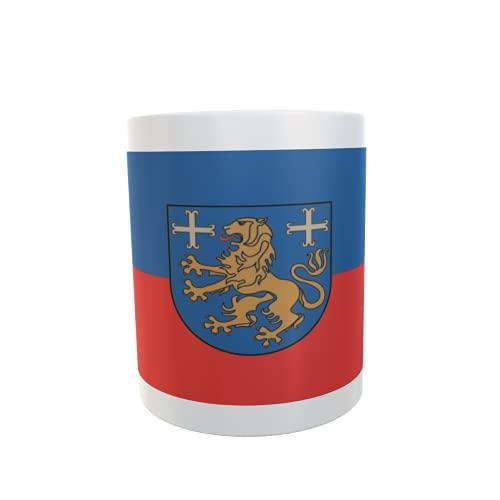 U24 Tasse Kaffeebecher Mug Cup Flagge Landkreis Friesland