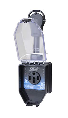 Progressive Industries 50 Amp Portable RV Smart Surge Protector With Cover (1 MIN), SSP-50XL
