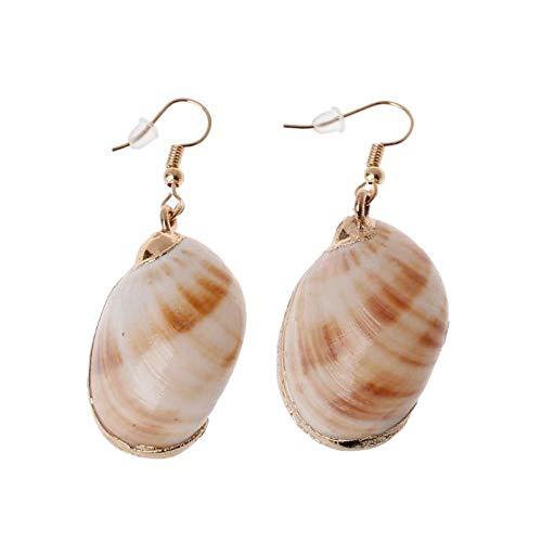 Erin Earring Damen Akzent Ocean Shell Sofa Meer Hexe Anhänger Ohrringe Modeschmuck