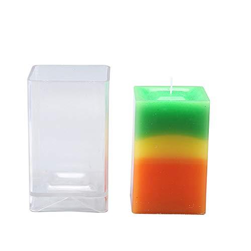 Die DIY Kuchen-Backen PINH-lang Silikon Kerze Formen,2ST 3D Bee Silikon Aroma-Kerze-Form Seife Gips Lehm