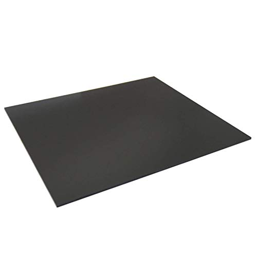 300x335x3mm Black G10 FR4 Epoxy Fiberglass Composite Sheet Panel 11.8 x 13 Inch