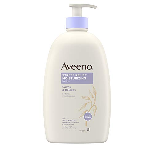 Aveeno Stress Relief Moisturizing Body Lotion...