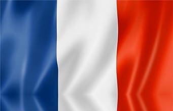 Durabol Bandera De Francia - Francés -Francesa 150 x 90 cm Satén