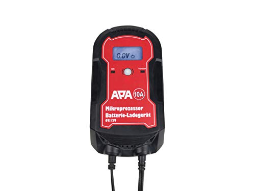 APA 16622 Mikroprozessor Batterie-Ladegerät 6/12 V, 10 A