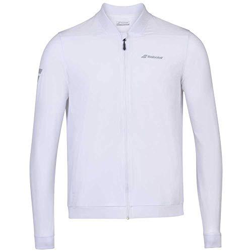 Babolat Play Jacket Junior Jacke Unisex Kinder M Weiß