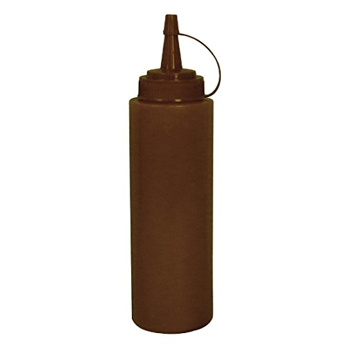 Vogue E625 marrón Squeeze botella de salsa, 12 onzas