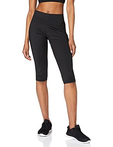 adidas BT HR SFT cap, Leggings Sportivi Donna, Black, M