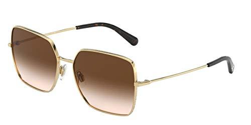 Dolce and Gabbana Damen 0DG2242 Sonnenbrille, Gold, 57
