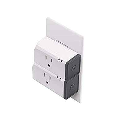 Sonoff S31 Wi-Fi Smart Plug with Energy Monitoring,Home Smart Mini Socket Compatible with Alexa & Google Home Assistant,Smart Socket Outlet Timer Switch Remote Control Devices (2-Pack)