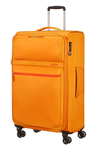 American Tourister Matchup Koffer, 80 cm, 115 Liter, Popcorn Yellow
