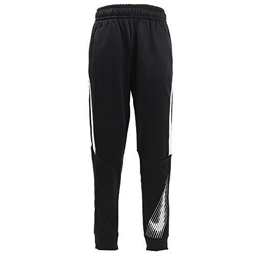 Nike Jungen Therma GFX Tapered Pantalon Hose, Schwarz (Black/White/White), (Herstellergröße: Small)