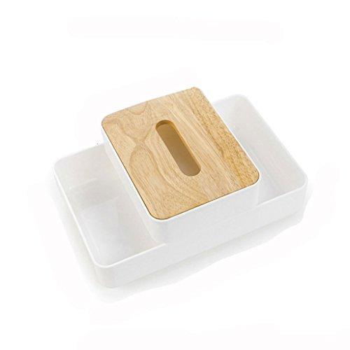 Uitstekend Simple tissue doos Book doos papieren handdoek opbergdoos Double stapelbaar opbergdoos Gemakkelijk