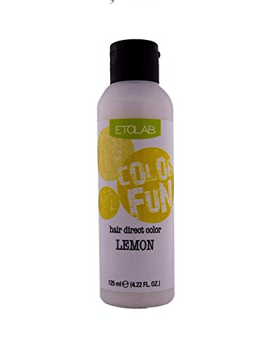 Etolab haarkleuring - 3x125 ml - geel
