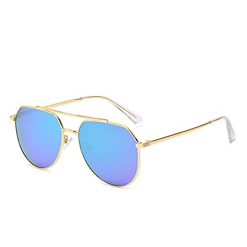 Gosunfly Gafas de sol polarizadas que conducen espejos de tinta espejo de rana de pesca al aire libre día y noche-Marco negro 1.1 pastos de engrosamiento