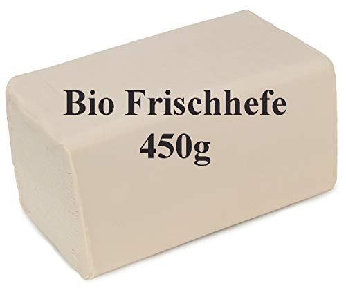 Bio Frischhefe 450 g Würfel Bäckerhefe frisch zum Backen