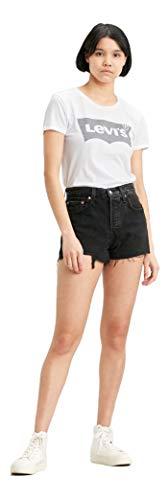 Levi's Women's 501 Original Shorts, lunar black, 26 (US 2)