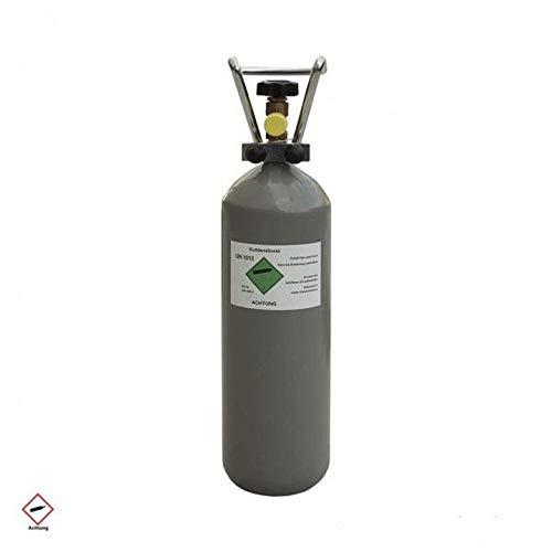 CAGO Eigentumsflasche 2kg CO2 Kohlendioxid Kohlensäure/Lebensmittelqualität E290 / für Aquarium Zapfanlagen gefüllt/voll / 10 Jahre TÜV ab Herstellungsdatum