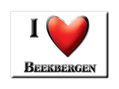 BEEKBERGEN (M) FRIDGE MAGNET NETHERLANDS GELDERLAND SOUVENIR I LOVE GIFT PRESENT