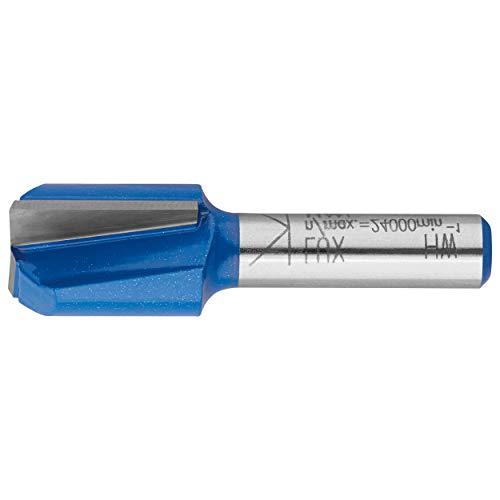 LUX-TOOLS HM Bohrnutenfräser 16mm | Einzelner Nutfräser mit 16mm Ø, 20mm Fräser-Länge und 8mm Schaft