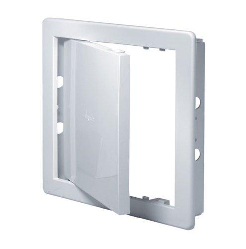 Awenta - Panel de acceso (plástico ABS, 200 x 250 mm), color blanco