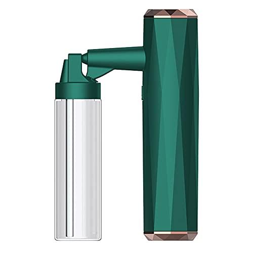 Monsieur Nano Facial Mini Face Spray Hydratant Hydratant Steamer Facial Pour Le Visage Hydratant Capacité D'hydratation Fine Brume Fine Brume Fogger 80ml Vert