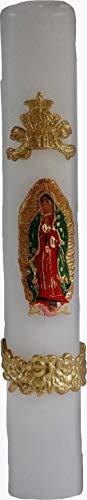 VELA DE LA VIRGEN DE GUADALUPE, Cirio Pascua. Milagrosa Ceremonias Católicas Ceremonia Religiosa Vela De…