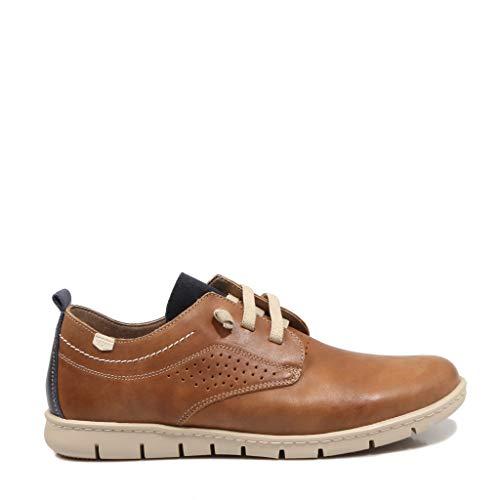 ON FOOT Flex Mod Cuero Zapatillas para Hombre, 43