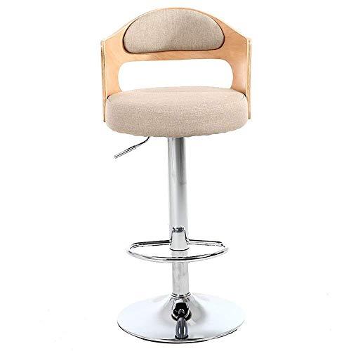 MJK Bar Stuhl, Wenzhihua Barhocker 360 Grad-Schwenker Adjustable Barhocker, Mordern PU-Leder Pub Stuhl Kithchen Insel Barhocker Frühstück Hocker mit großen Sitzen,C9,Höhe 60-80cm