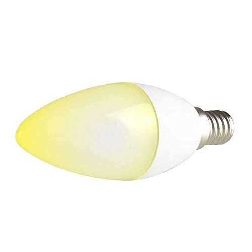 "Bombilla LED Wi-Fi Inteligente NGS Gleam 514 con Colores Regulables-5W-E14-500LM-control con APP gratuita ""NGS ORB"""