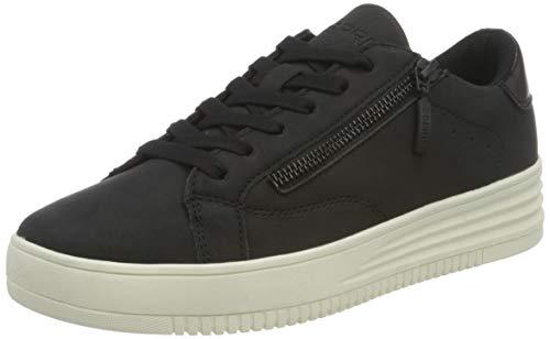 ESPRIT Damen 080EK1W324 Sneaker, 001/BLACK, 38 EU