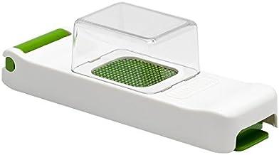Alligator Mini Clickbox Onion Cutter, Stainless Steel, White/Green, 17.8 x 5.1 x 5.1 cm