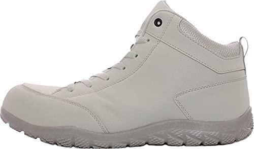 [プロノ] 安全靴 作業靴 セーフティー防水ミッド PR-2029 (グレー, 26.5cm)
