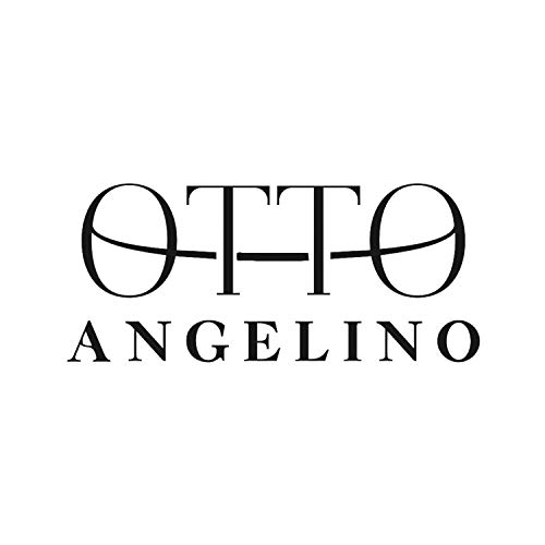 Otto Angelino Genuine Leather Zippered Envelope Wallet with Phone Compatible Slots - RFID Blocking -Unisex (Rosado)