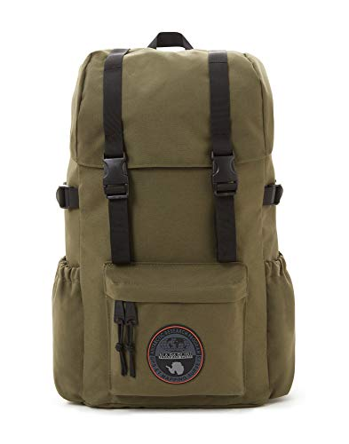Napapijri HOYAL DAY PACK Mochila tipo casual, 42 cm, 20 liters, Verde (Green Musk)