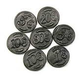Salt Licorice Coins-Dutch Munten Drop-2.2lbs bag