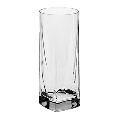 Luigi Bormioli Alfieri 14-Ounce Beverage Glass, Set of 4