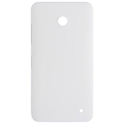 ZHANGJIALI Cellulari Parti di Ricambio Sostituzione Custodia Copertura Posteriore della Batteria Back Cover (Superficie Satinata) for Nokia Lumia 630 (Nero) (Color : White)