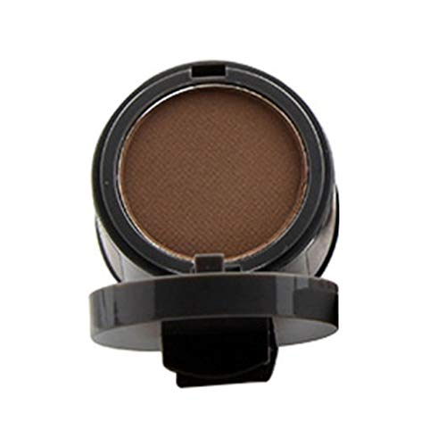 Allbesta Haar Concealer Haarfarbe Puder Creme Hairline Modified Shadow Pulver Natürliche Bronzer Highlighter Haar Pomade Haarverdichtung Dunkelbraun