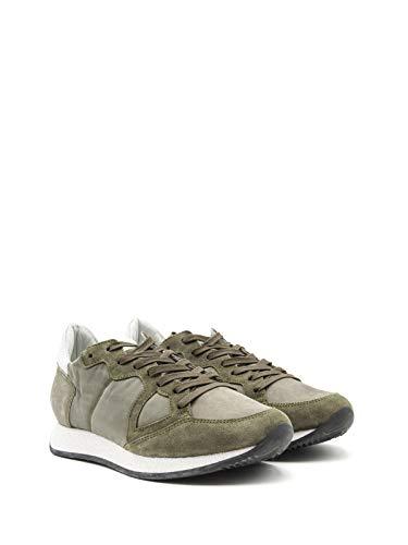 Philippe Model Sneakers Uomo Mvlubx09 Camoscio Verde