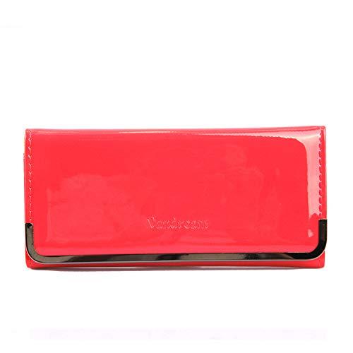 Bolso de Embrague de Billetera Larga de Moda de Color Caramelo para Mujer, día de San Valentín, Esposa, Madre, Amante, niña,