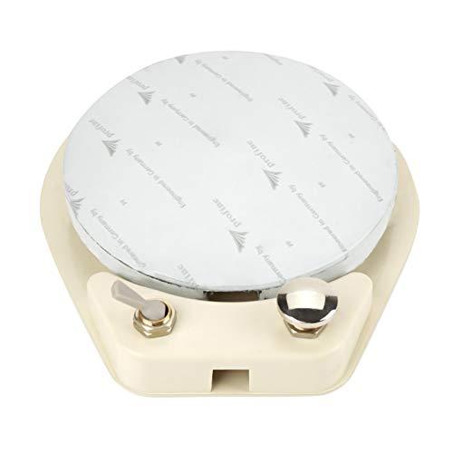 Pedal de control dental, Pedal de control dental Sillón dental Pedal de control de pie estándar de 4 orificios con cable de manguera y almohadillas antideslizantes para los pies