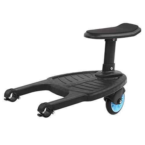 Nunafey Kinderwagen-Rollbrett, ausgezeichnete barrierefreie Kinderwagen-Rollplatte, PP/PU Langlebig für Kinderwagen Kinderwagenfamilie