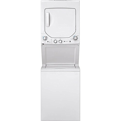 of width of stackable washer dryers GE Appliances GUD24ESSMWW, White