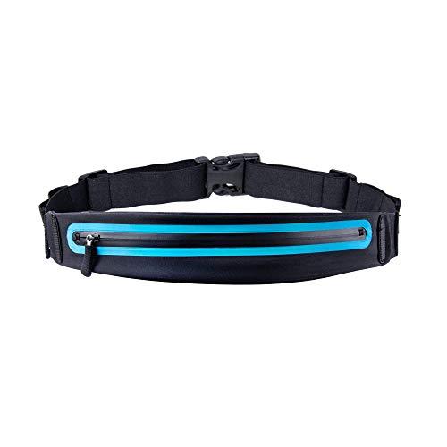 J.AKSO Cinturón para Correr, riñonera para Correr para Mujeres y Hombres Bolsa para Correr Reflectante Manos Libres Cinturón Bolsa de Entrenamiento físico