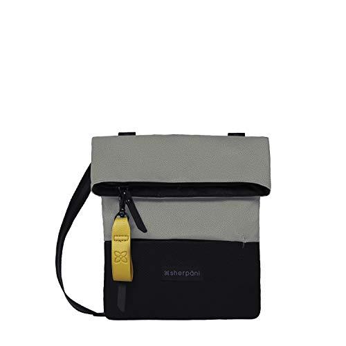 Sherpani Pica, Recycled Nylon Crossbody Purse, Mini Crossbody Bag, Shoulder Bag, Fashion Purse for Women, RFID Protection (Flint)